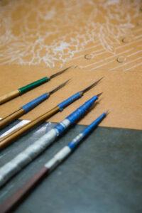 【NEW】活動紹介:型友禅の型彫刻